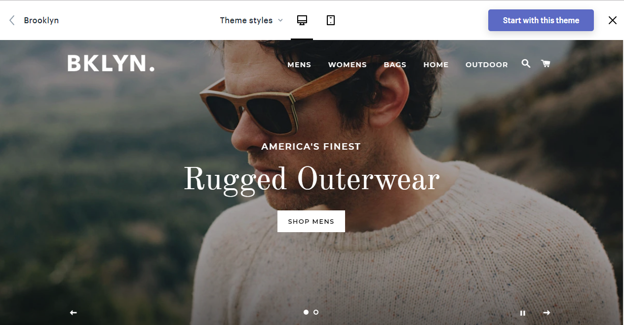 best free themes for shopify