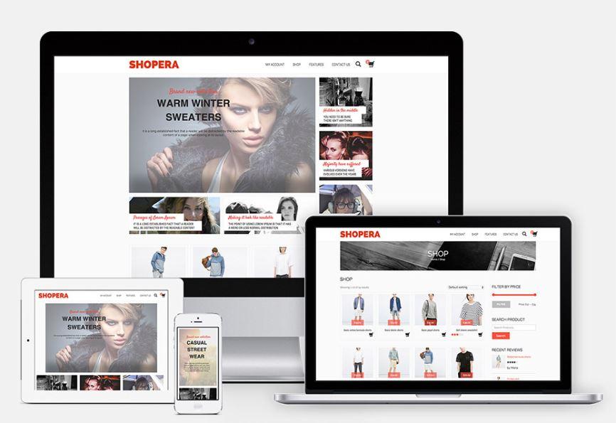 beautiful online shop