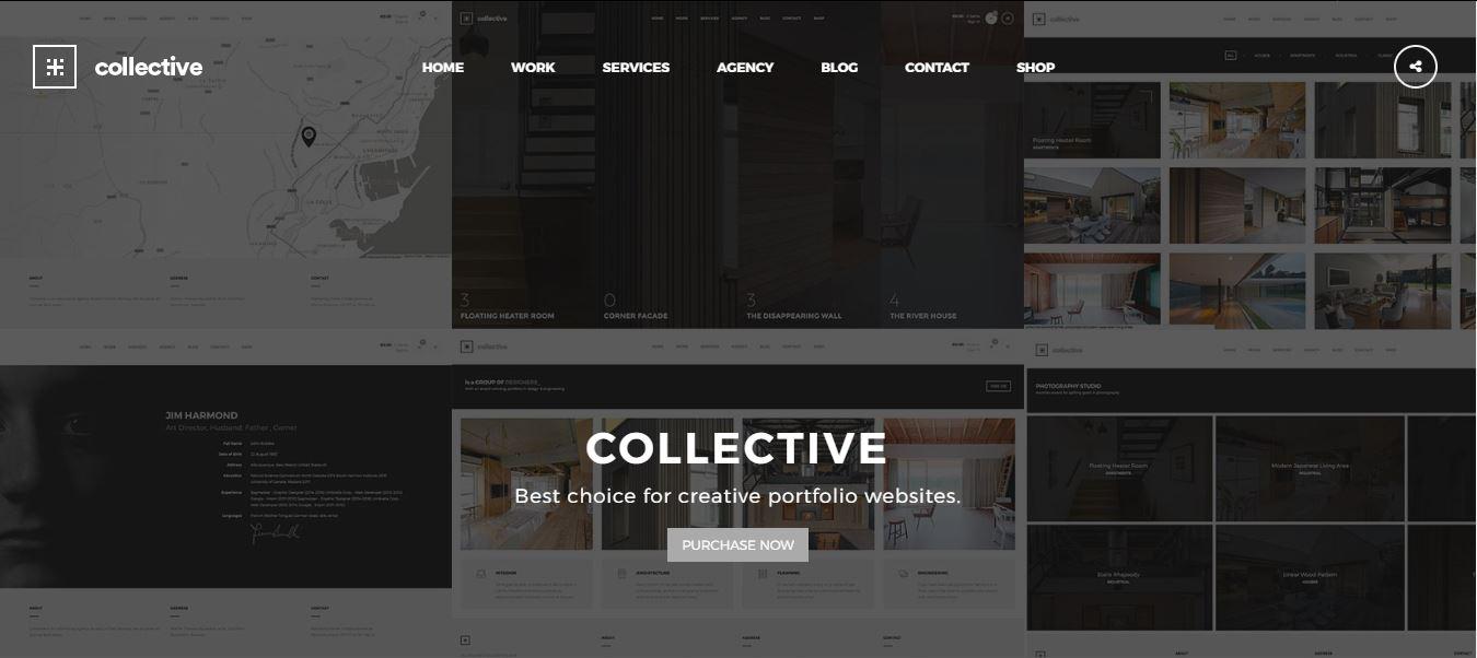 Colletive Portfolio Theme
