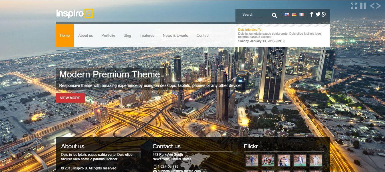 Inspiro Website Theme