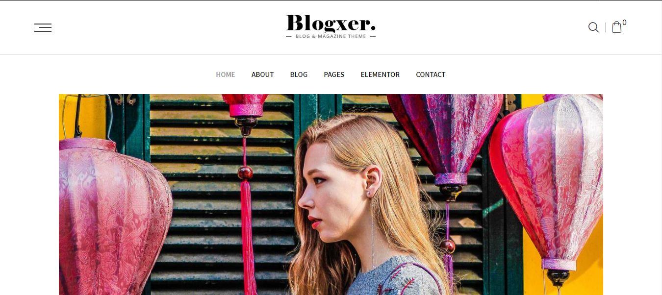 Bloxer WordPress Theme