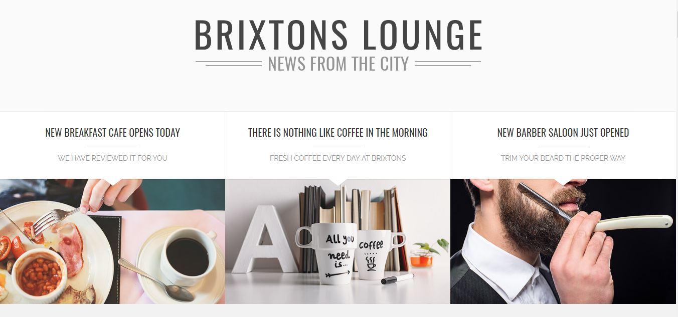 Brixton Free Theme