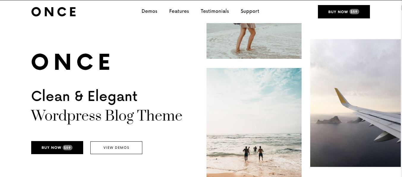 Once Free Theme