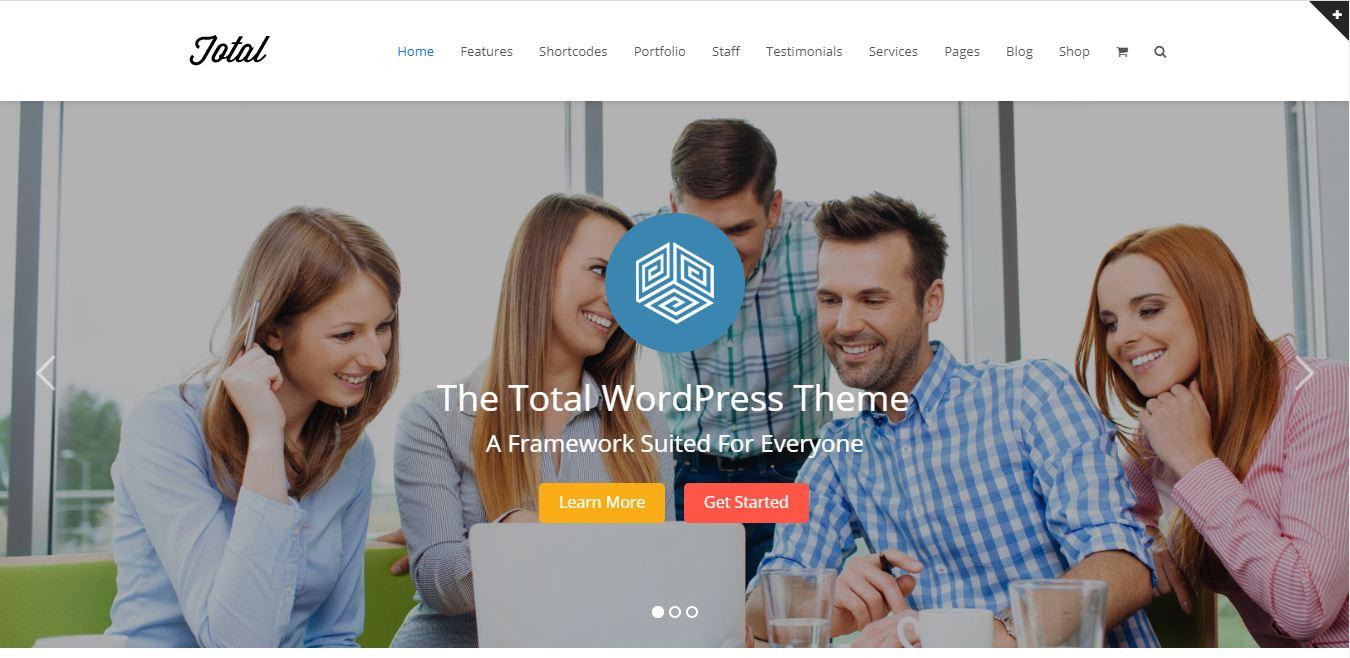 Total powerful multipurpose WordPress theme