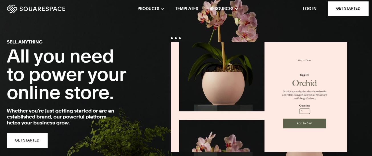 Squarespace Feature