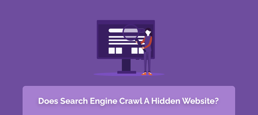 Does Search Engine Crawl A Hidden Website