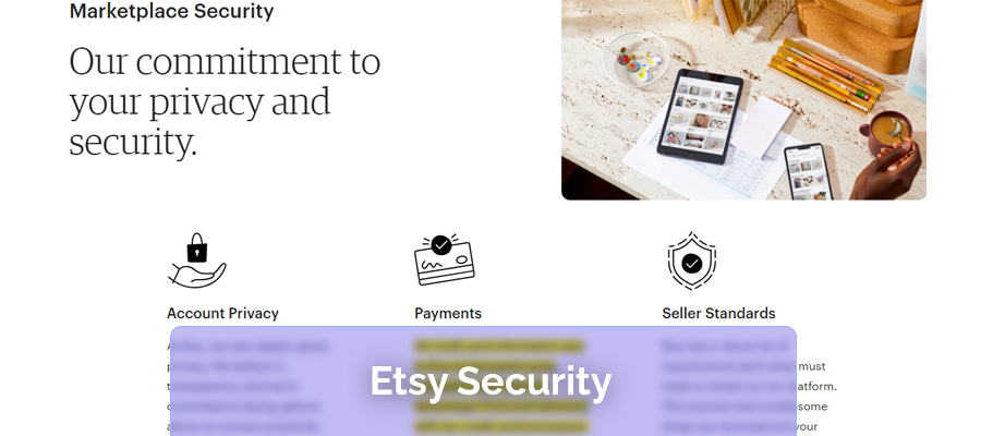 Etsy security