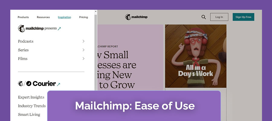 Mailchimp-Ease-of-Use