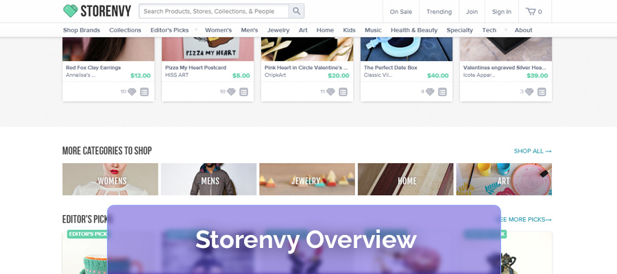 Storenvy overview