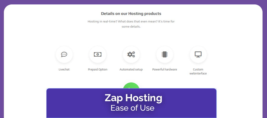 Zap Hosting Ease Of Use