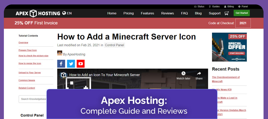 apex hosting complete guide and review