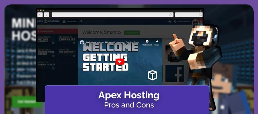 apex hosting pros & cons