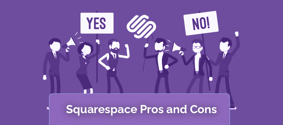 squarespace pros and cons