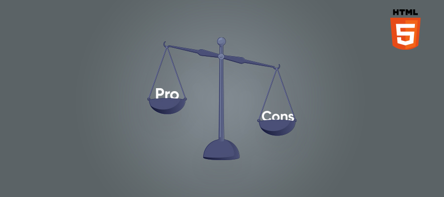 Html Pros and Cons