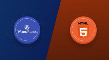 Html Vs WordPress