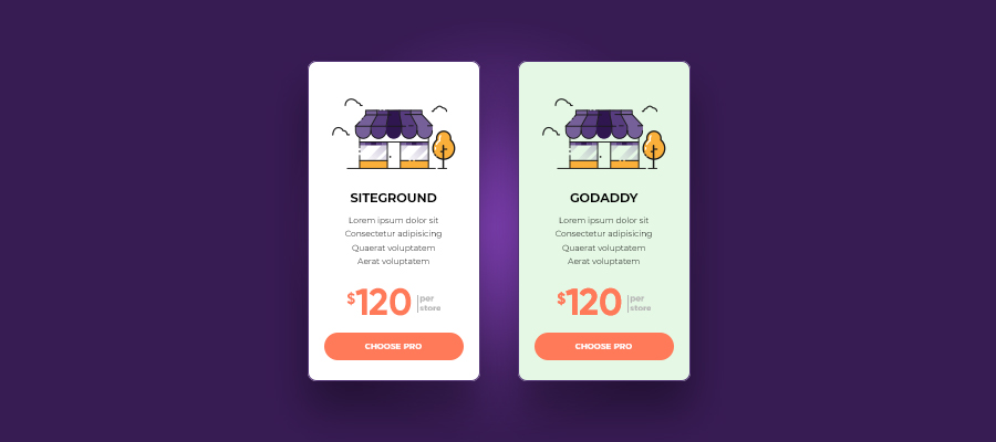 SiteGround and Godaddy Pricing Plan
