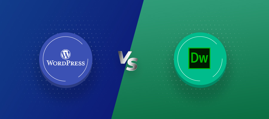 WordPress vs Dreamweaver full comparison