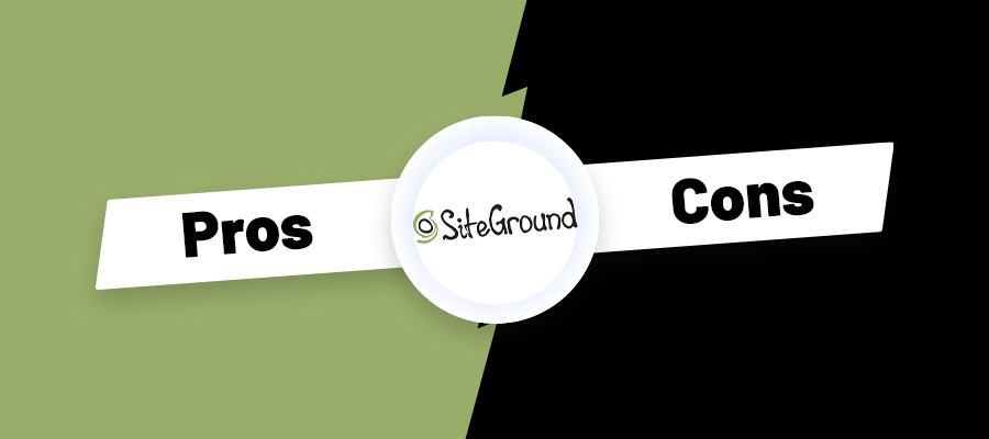 siteground pros and cons