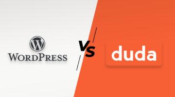 wordpress vs duda