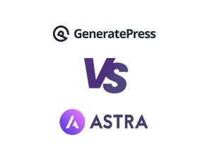 GeneratePress vs Astra Logo