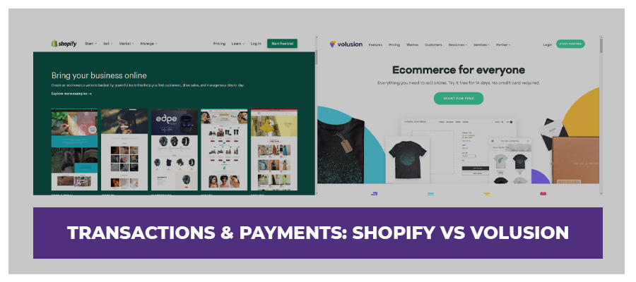 payments volusion vs shopify